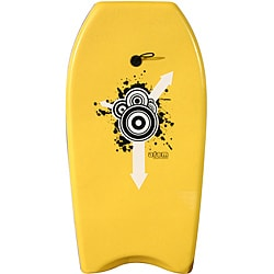 Atom 37-inch Yellow Bodyboard