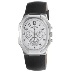 Philip Stein Men's 'Signature' Chronograph Black Strap Watch