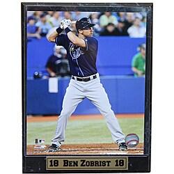 Tampa Bay Rays Ben Zobrist Stat Plaque 8946168