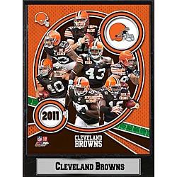 Cleveland Browns 2011 Plaque