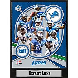 Detroit Lions 2011 Plaque