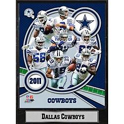 Dallas Cowboys 2011 Plaque
