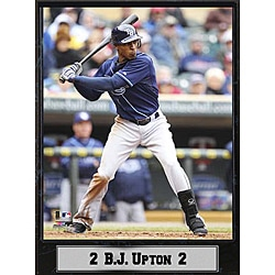 Tampa Bay Rays B.J. Upton Stat Plaque 8948346