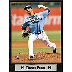 Tampa Bay Rays David Price Stat Plaque 8948348