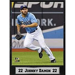 Tampa Rays Johnny Damon Stat Plaque 8948391