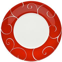 Red Vanilla Panache Rouge Salad Plates (Set of 6)