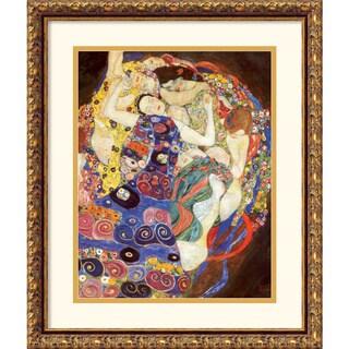 Gustav Klimt 'The Virgins (Sleeping Women)' Framed Art Print (8952112 DSW177503 Amanti Art) photo