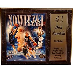 Dallas Mavericks Dirk Nowitzki Stat Plaque