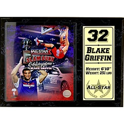 Los Angeles Clippers Blake Griffin Stat Plaque 8953264