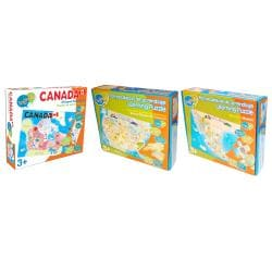 North America Map Puzzle Bundle