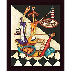 Jennifer Garant 'Cup of Joe' Framed Print Art