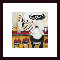 Jennifer Garant 'Order Up' Framed Print
