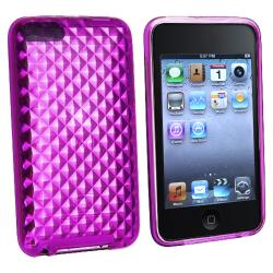 INSTEN Purple Diamond TPU iPod Case Cover for Apple iPod Touch Generation 2/ 3