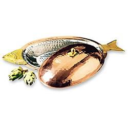 Old Dutch Decor Copper Covered Fish Platter