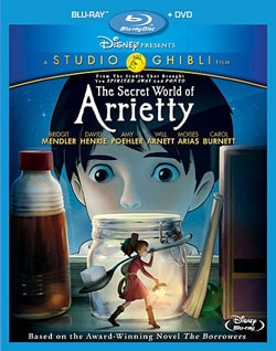 The Secret World of Arrietty (Blu-ray/DVD) 8968698
