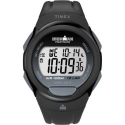 Timex Men's T5K608 Ironman Traditional 10-Lap Black Watch