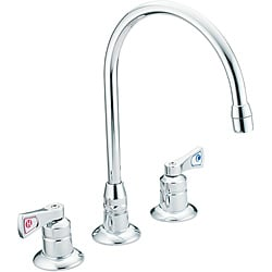 Moen 8227 Two-Handle Bathroom Chrome Faucet