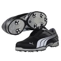 d460d16651e8 Puma Men s Cell Fusion 2 Black  Silver Golf Shoes