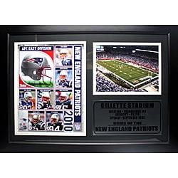 New England Patriots 2010 Photo Stat Frame