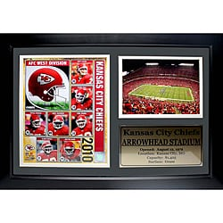 Kansas City Chiefs 2010 Photo Stat Frame
