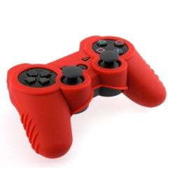 BasAcc Red Silicone Skin Case for Sony Playstation 3