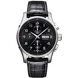 Hamilton Men's Jazzmaster Black Dial Watch