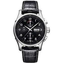 Hamilton Men's Jazzmaster Black Dial Watch
