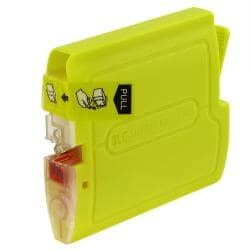 INSTEN Brother compatible LC51Y Yellow Ink Cartridge