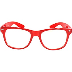 Unisex Red Fashion Sunglasses