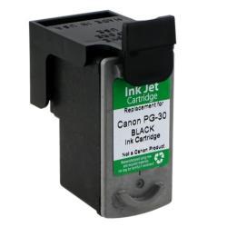 INSTEN Canon PG-30 Black Ink Cartridge (Remanufactured)