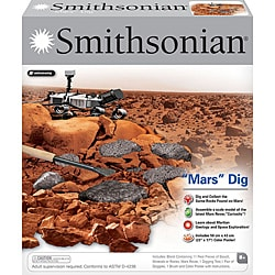Smithsonian Childrens' 'Mars' Dig Play Set with Mars Rover Model Kit