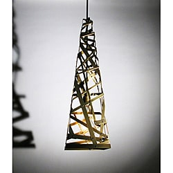 Fashion Modern Art Brass Finish Chandelier