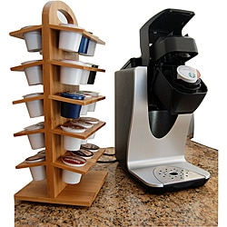 Le Chef Bamboo Coffee Pod Holder