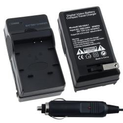 INSTEN Compact Battery Charger Set for Panasonic CGA-S007/ DMW-BCD10