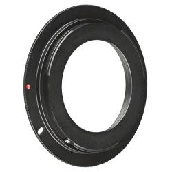 INSTEN Black M42 Lens to Canon EOS EF Camera Adapter Ring