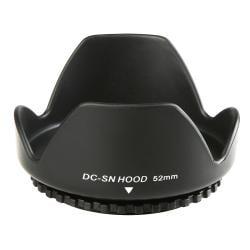 INSTEN 52-mm Black Camera Lens Hood