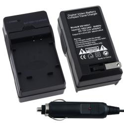 BasAcc Compact Battery Charger Set for Olympus Li-50B