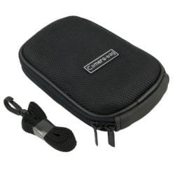 BasAcc Black Heavy-duty Nylon Zippered Universal Digital Camera Case