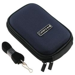 BasAcc Dark-blue Heavy-duty Nylon Universal Digital Camera Case