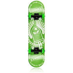 Radiate Skateboard Ride the Light - Green