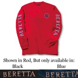 Beretta Long Sleeve Double Logo T-Shirt