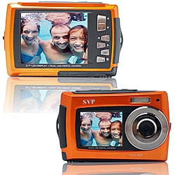 Aqua 5800 Orange 18MP Orange Digital Camera