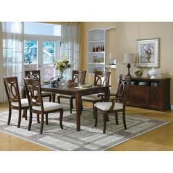 Walnut Side Chairs (Set of 2)