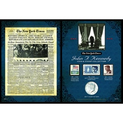 American Coin Treasures The New York Times JFK Coin & Stamp Collection