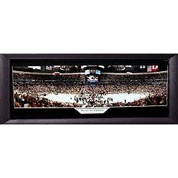 2001 Stanley Cup Champions Colorado Avalanche Panoramic Frame 9019189
