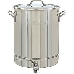 Bayou Classic Stainless Steel 10-Gallon Spigot Pot