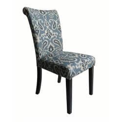 Monsoon Voyage Upholstered Blue Dining Chairs (Set of 2) (As Is Item)