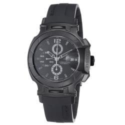 Tissot Men's T048.427.37.057.00 'T Race' Black Stainless Steel Rubber Strap Watch