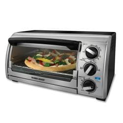 Black & Decker TRO480BS Toast-R-Oven 4-slice Toaster Oven (Refurbished)