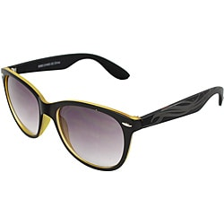 Unisex Black/ Gold Fashion Sunglasses